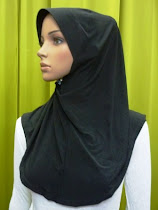 Tudung Lycra Plain (M Size)