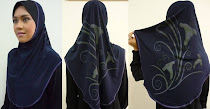 Tudung Syria Batik + Awning Inner (L size)