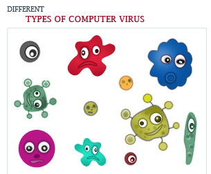 most common types of computer viruses