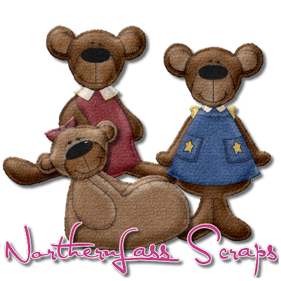 http://nothernlassscraps.blogspot.com/2009/12/freebie-puffy-felt-teddy-bears.html