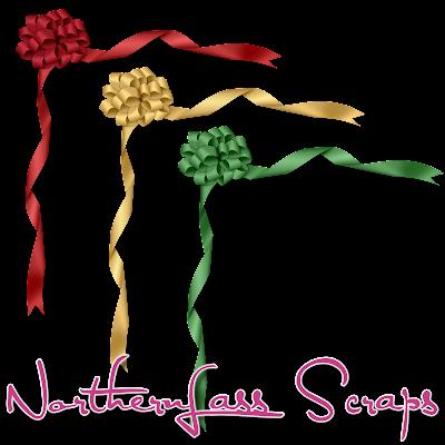 http://nothernlassscraps.blogspot.com/2009/12/freebie-corner-ribbons.html