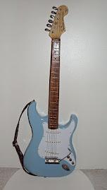 Guitarra modelo Fender Stratocaster