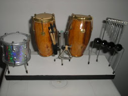 Mini palco de percussão