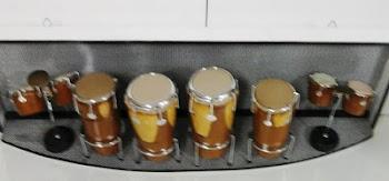 Palco de percussão