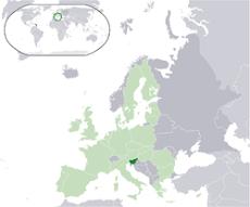 Slovenia na Europa