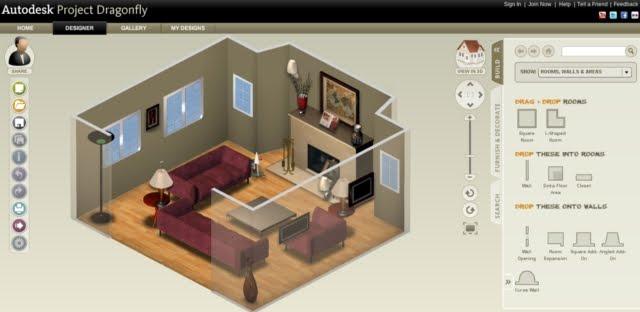 la tua casa online in 3d con Autodesk Project Dragonfly gratis