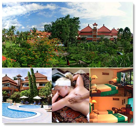VILLAS IN BALI: White Rose Hotel 4