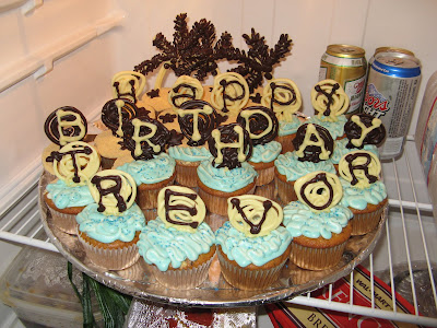 Happily Ever Cupcakes Trevors 22nd Birthday Smores on the