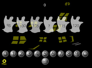 find other ghost blaster and spooky sequences games using different numbers on the oswego school district interactive games site - Halloween Sequences