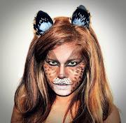 My Halloween Cat Makeup Tutorial