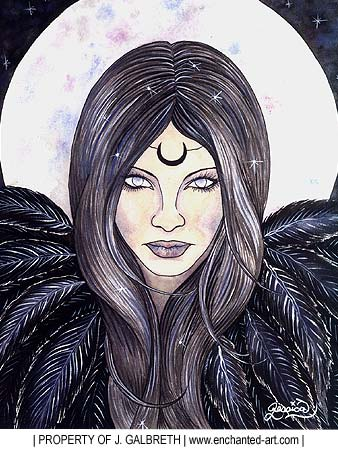 Rowan's Deities: The Morrigan
