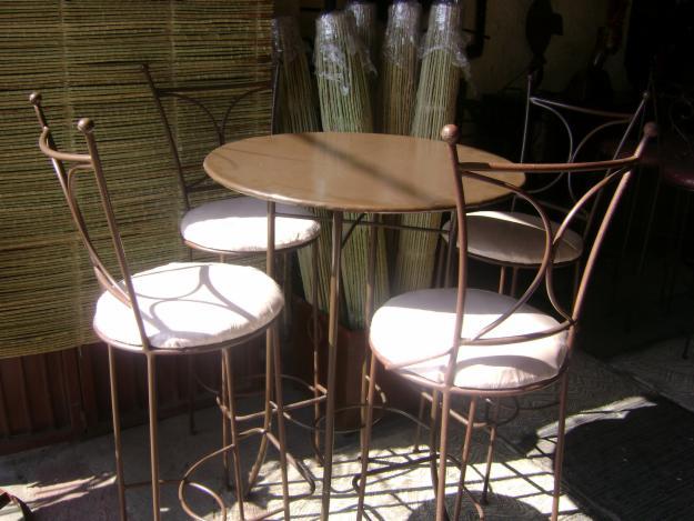 Taller de herreria cruce sillas for Bancas para jardin de herreria