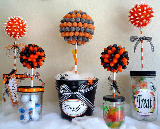 Be different act normal halloween centerpieces