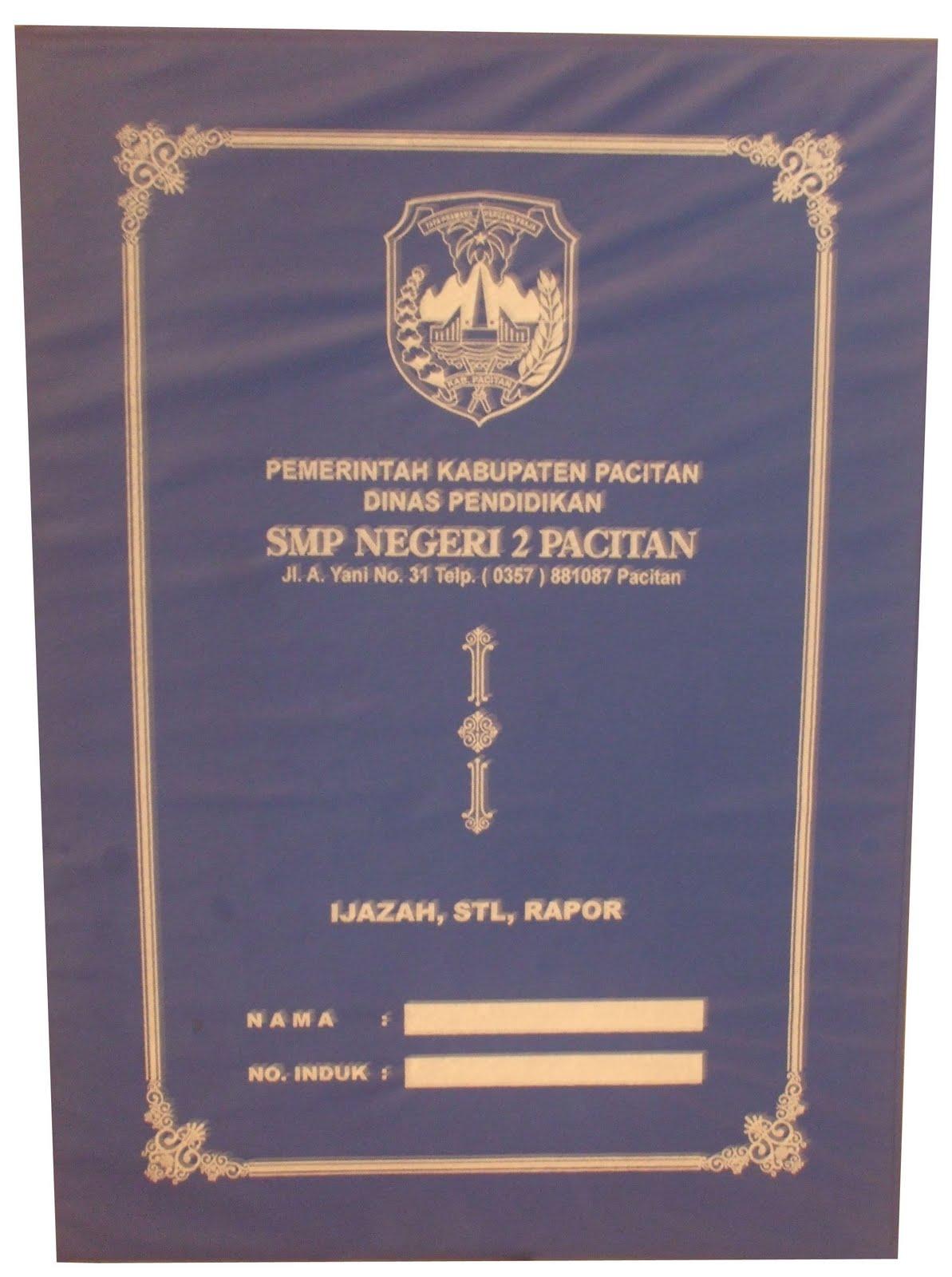 Contoh Map Ijazah SMP-MTS