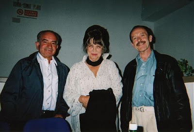 Emilio D'Alessandro, Christiane Kubrick, Ian Watson. Trieste 2000