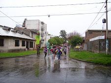 La murga verde recorre el barrio
