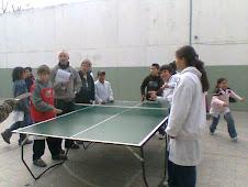 Practicando Tenis de mesa