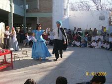 Cenicienta en el baile