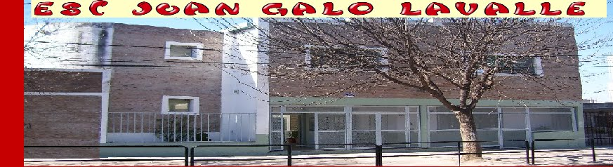 """Escuela Nº 61 """"Juan Galo Lavalle"""""""