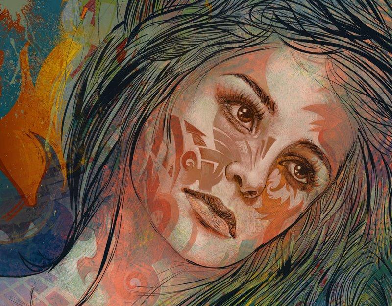 Graffiti Dreamer - detail