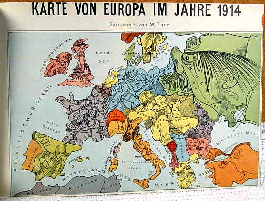 map of european countries in 1914. Tsarist Russia had undergone a