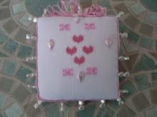 pinkeep...punto croce..