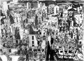 Guernica+bombing+bomb+damage+condor+legion+spanish+civil+war+nazi