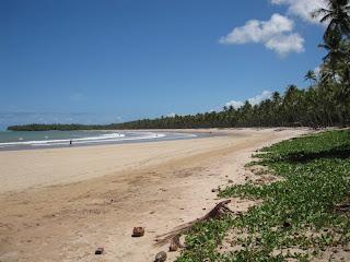 Em Boipeba, a espetacular praia da Cueira