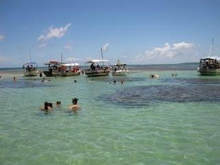 Mergulho nas piscinas de Moreré