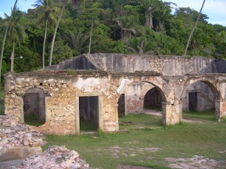 As ruinas do Forte de Morro