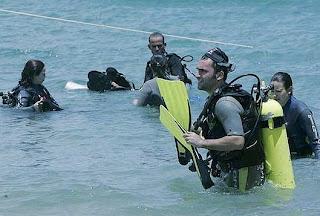 Mergulho em morro de sao paulo
