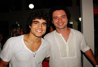 Marque Luque e Caio Castro