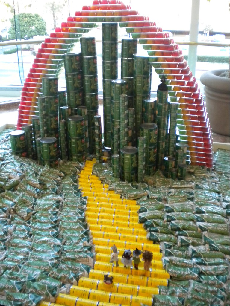 mother bliss canstruction
