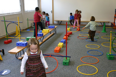 Berühmt Education physique, motricité à la maternelle SF68