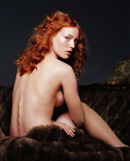 Cute redhead records herself using vibrator and tight pussy 5
