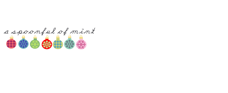 A SPOONFUL OF MINT ♫