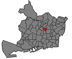 Localització del barri