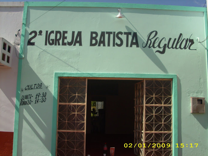 Templo da 2ª Igreja Batista Regular em Porto Velho