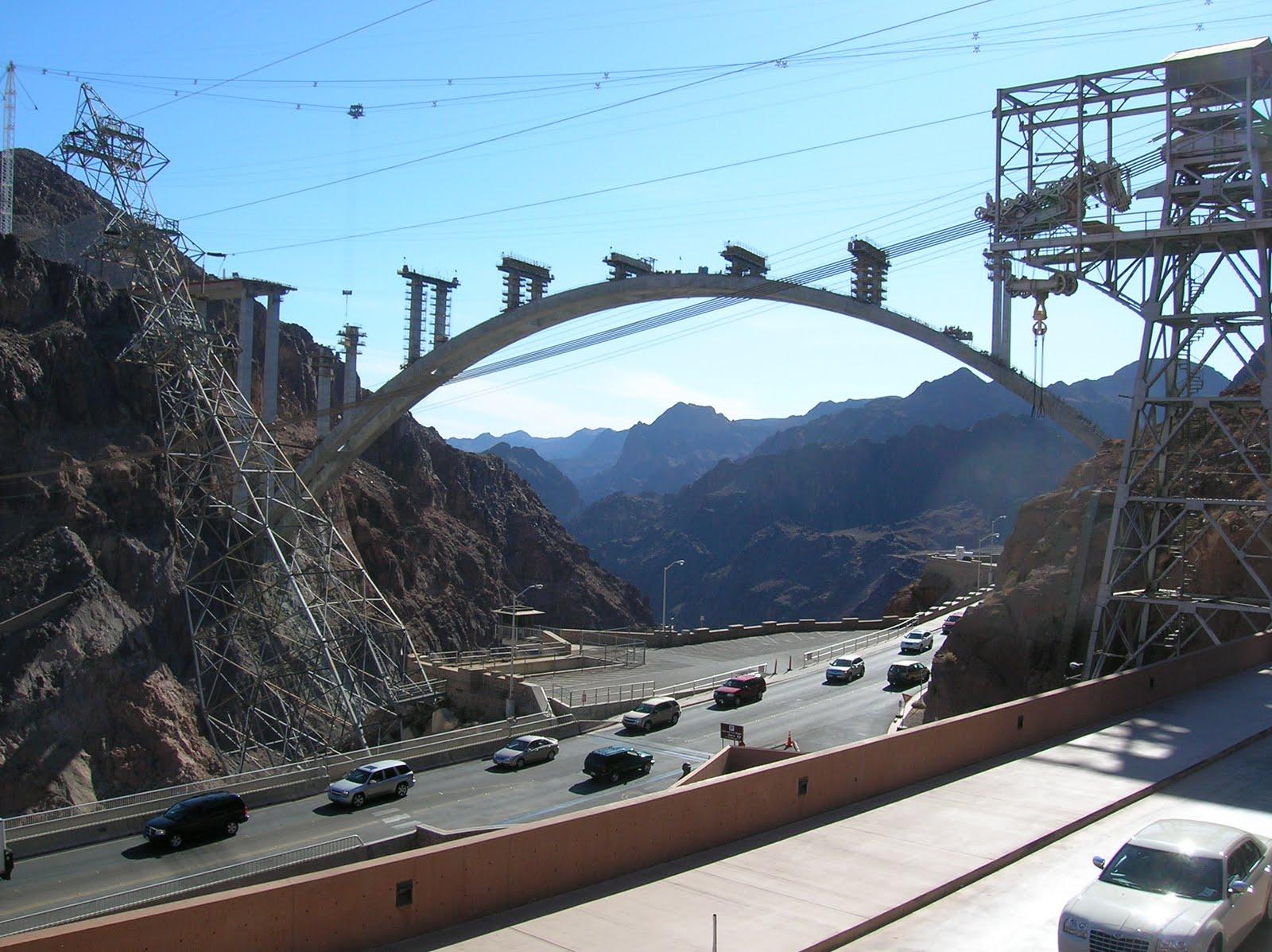 Hoover Dam Bridge Nigh...