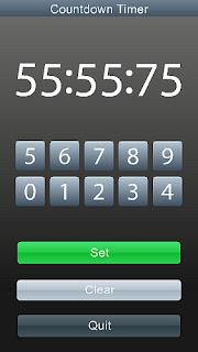 n97, 5800, n97 mini, Countdown Timer, aplicaciones