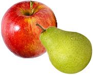Las frutas y las hortalizas ninfas, carolinas