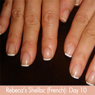 If A Client S Natural Nails Tend To Chip L And Bend They Will Still Even With Shellac