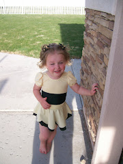 Gracie's First Dance Recital