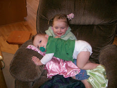 Carter loves to lay on Gracie