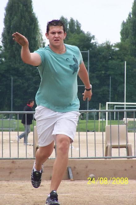 Démonstration de sport boule