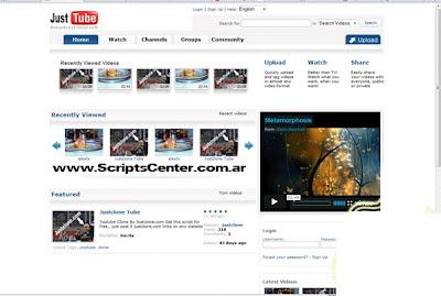 Script Clon de Youtube - Diseño 2010 - Codigo Abierto You-Tube-Clone