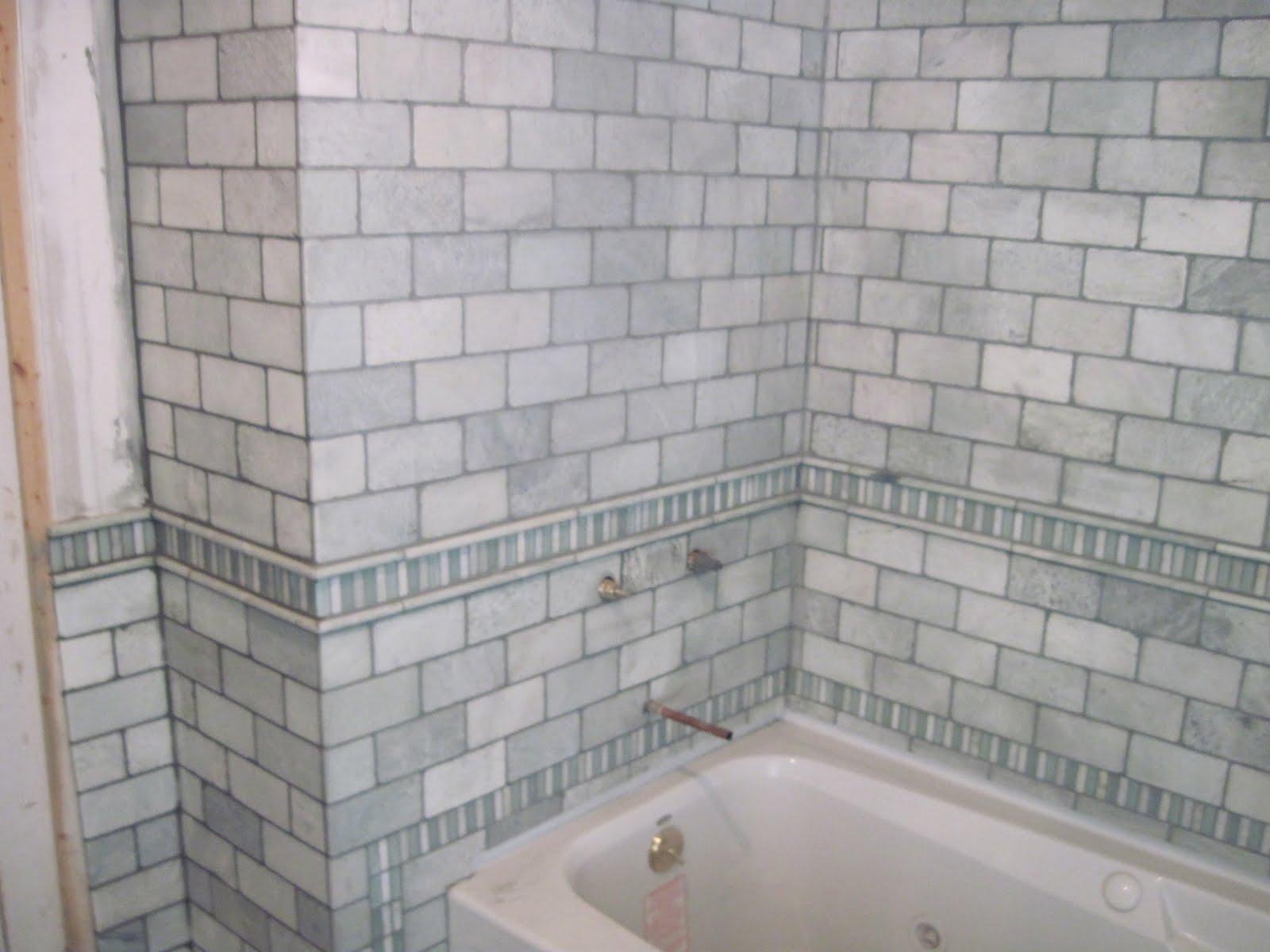 Drennon\'s Custom Tile: Natural stone bathroom