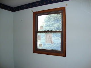 The guest bedroom window is identical to the one in the computer room.