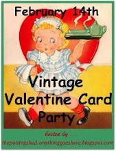 Vintage Valentine Card Party.