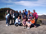 Students at Volcan Irazu